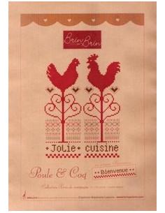 Brin par Brin - Poule et Coq