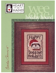 Heart in Hand - holiday hound