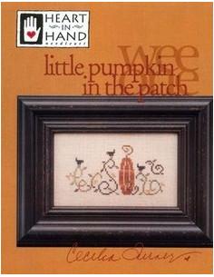 Heart in Hand - little pumpkin in the patch