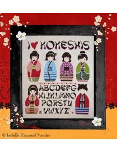 Isabelle Vautier - I Love Kokeshis