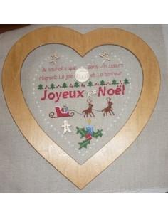 La Cigogne qui brode - Mon coeur de Noël