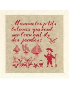 Le ptit monde de Perrette - Maman, les petits bateaux