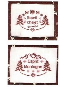 """Les Créations de Chrystelle - Esprit """"Chalet et Montagne"""""""