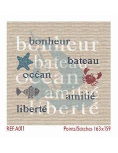 Lili Points - bonheur, bateau, océan, amitié, liberté