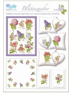 Lindners Kreuzstiche - Blütenzauber