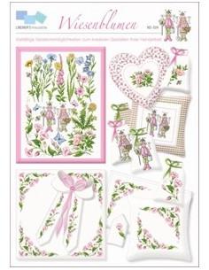 Lindners Kreuzstiche - Wiesenblumen