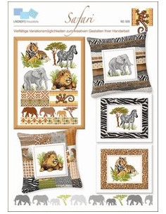 Lindners Kreuzstiche - Safari