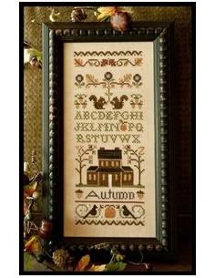 Little House Needleworks - Autumn Band Sampler
