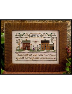 Little House Needleworks - Exodus 20:16