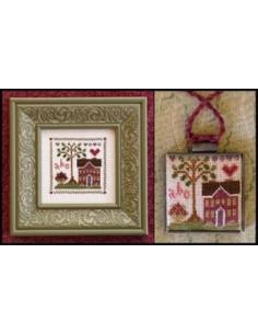 Little House Needleworks - Heart and Home Sampler