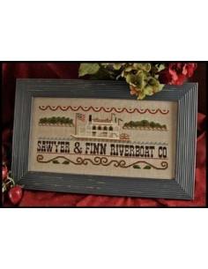Little House Needleworks - Mississippi Riverboat