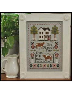 Little House Needleworks - Mrs O Leary s Dairy Farm
