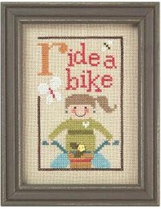 Lizzie Kate - Green Flip it - Ride A Bike