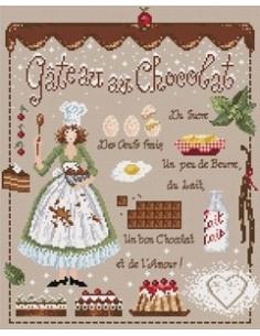 Madame La Fée - Gâteau au Chocolat