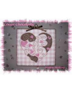 Malin Maline - Coeur chocolaté