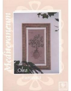 """Fiche Stickdesign """"Olea Europaea"""""""