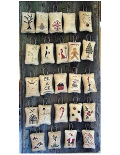 The Primitive Hare - Whimisical Advent Calendar