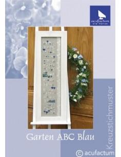 """acufactum """"Garten ABC Blau"""""""