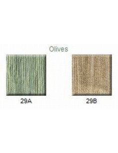 House of Embroidery - coton mouliné - Olives