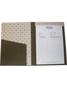 Kit de cartonnage - Bloc-notes Format A4