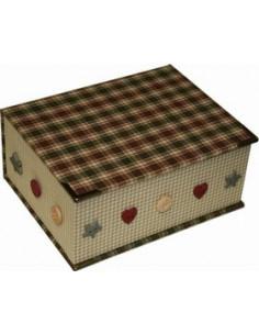 Kit de cartonnage - Boîte pour cartes postales