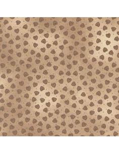 Tissu patchwork - Taupe 304