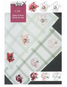 Brochure ideeX - Pavot et rose