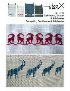 Brochure ideeX - Bouquetin, Gentianne & Edelweiss