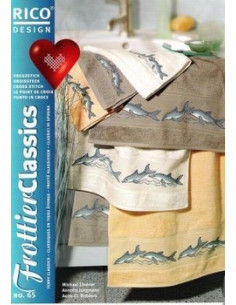 Brochure RICO N°65 Classiques en tissu éponge