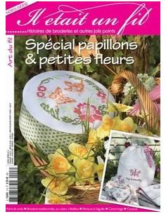 Magazine-Il était un fil -Spécial papillons & petites fleurs