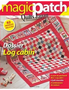 Magic Patch Quilts Japan - Dossier Log cabin