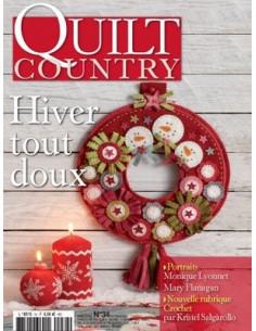 Brochure - Quilt Country - Hiver tout doux