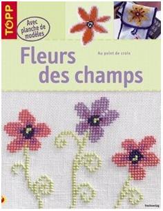 Brochure - Fleurs des champs au point de croix
