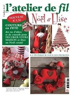 Magazine - l atelier de fil N°1 - Noël d Elise