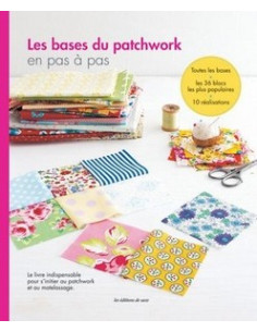 Livre - Les bases du patchwork en pas à pas