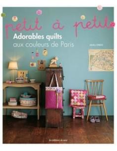 Livre - Adorables quilts aux couleurs de Paris