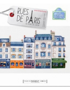 Livre - Rues de Paris au point de croix