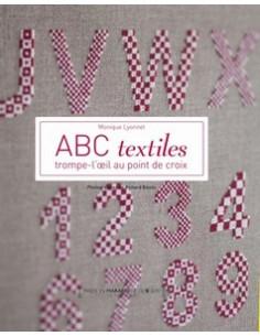 Livre - ABC textiles, Trompe-l oeil au point de croix