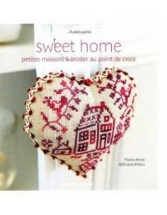 Livre - Sweet home - petites maisons à broder au p.d.c.