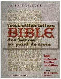 Livre - Bible des lettres au point de croix
