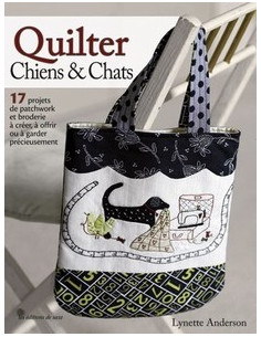 Livre - Quilter chiens & chats