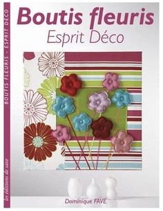 Livre - Boutis fleuris - Esprit Déco