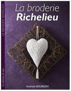 Livre - La broderie Richelieu