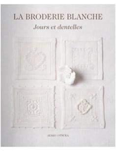 """Livre """"La broderie blanche"""""""