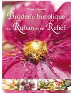 """Livre """"Broderie bucolique au ruban et en relief"""""""