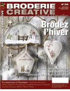 Mains et Merveilles - Broder l hiver n°36