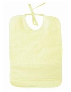 Bavoir pour bébé - éponge - jaune