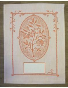 Graziano - Linge/Torchon Melograno (petit panneau) - orange