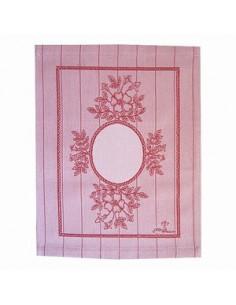 Graziano - Linge/Torchon Rosa rouge (petit panneau)