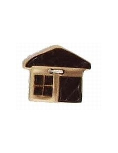 Bouton Chalet 34 mm